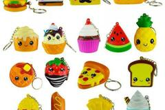 Buy Now: 216 SQUEEZEM KEYCHAINS - ASSORTED STYLES - NEW -