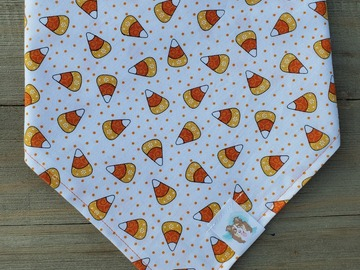 Selling: Halloween Candy Corn pet bandana
