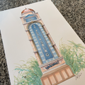 Selling with online payment: St Pete  Print, 8x10