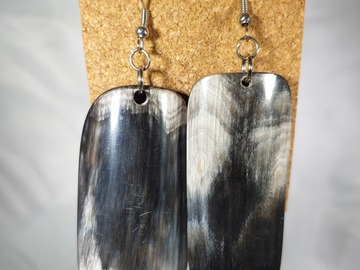 Selling with online payment: Cow Horn Earrings