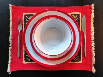 Selling with online payment: Batik Placemats