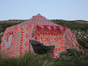 Renting out with online payment: Funky Luna Bell Tent Hire | Cheshire