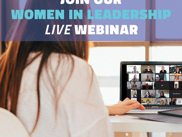 Events/Workshops - free: Women in Leadership Online Live Event Series