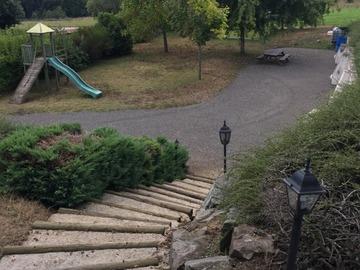 NOS JARDINS A LOUER: Jardin indépendant 1000 m² terrain de pétanque