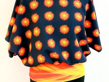 Vente au détail: Haut oversize motif SUNNY 65,00 €