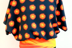 Sale retail: Haut oversize motif SUNNY 65,00 €