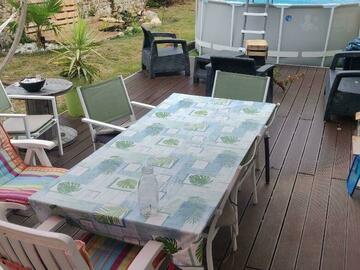 NOS JARDINS A LOUER: jardin piscine terrasse barbecue