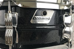 "Selling with online payment: LUDWIG Black Galaxy 5x14"" Snare Drum MINT+++"