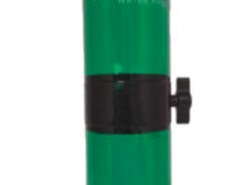 Post Products: The Gravity Vortex Bong Green Blue Tall