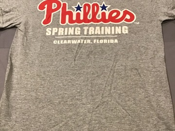 Selling A Singular Item: Spring training shirt