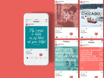 Offering with online payment: Social Media Strategy + Design