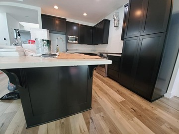 Offering without online payment: Navarrete Painting Services Kitchen Cabinet  in Kingwood