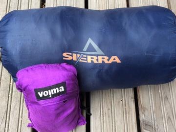 Vuokrataan (viikko): Sierra Tour +9c makuupussi ja sisälakana