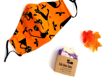 Selling with online payment: Fab-boo-lous Mask & Soap Bundle