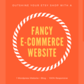 Offering online services: Custom Ecommerce Website - With Etsy Stock Sync