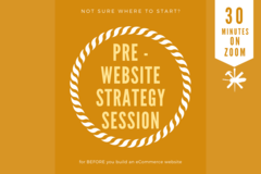 Offering expert consultation: Pre-Website Strategy Session