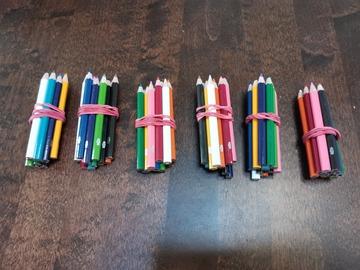 Ilmoitus: 6 nippua värikyniä lapsille