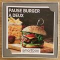 """Vente: Coffret Smartbox """"Pause burger à deux"""" (39,90€)"""