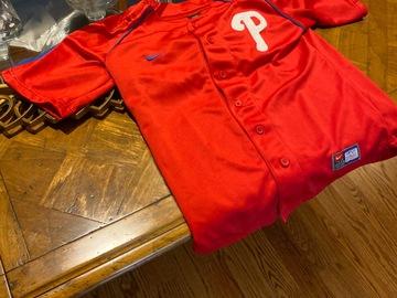 Selling A Singular Item: Phillies Nike Kids Small Jersey