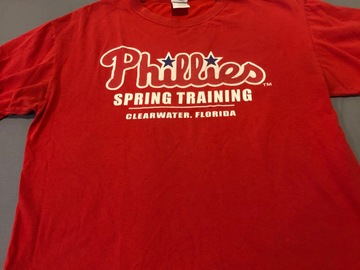 Selling A Singular Item: Spring training t-shirt