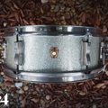 Selling with online payment: 1964 Ludwig Pioneer 5x14 6-Lug Snare Drum Silver Sparkle