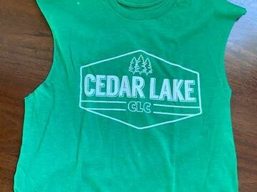 Selling multiple of the same items: Cedar Lake tanks and T shirts