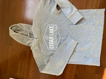 Selling A Singular Item: Light gray sweatshirt