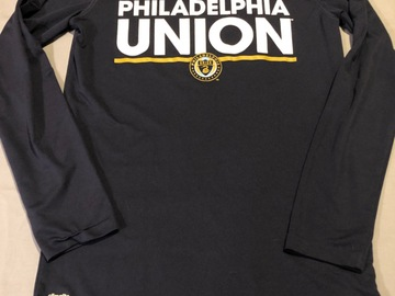 Selling A Singular Item: Philadelphia Union long sleeved shirt