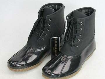Buy Now: 20 Pairs Charles Albert Women Calf Rain Duck Boot - Size 8