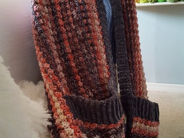 Selling with online payment: Pebble Creek Pocket Shawl/Wrap