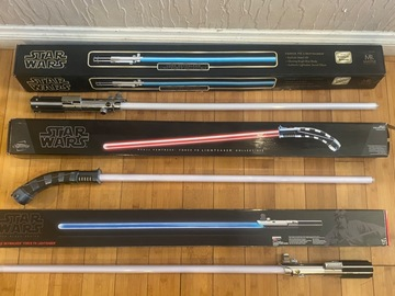 Selling with online payment: Master Replica & Hasbro Force FX Black Series