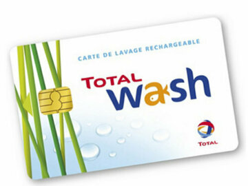 Vente: Carte Total Wash (130€)
