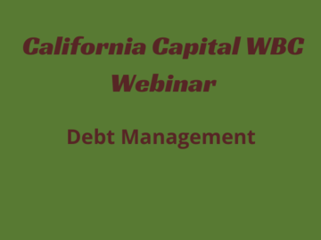 Workshop: Debt Management