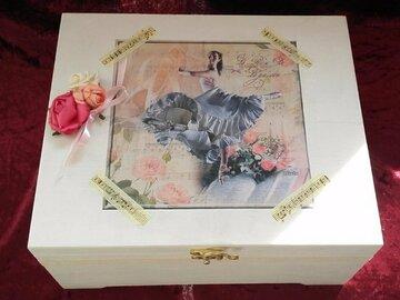 Vente au détail: Boîte à bijoux romantique