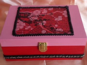 Vente au détail: Boîte à thé japonaise