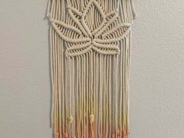 Selling with online payment: Lotus Macrame Wall Hanging