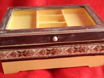Vente au détail: Boîte à bijoux orientale