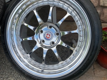 "Selling: 18"" hre classic 5x112 polished"