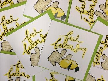 : Feel Better Soon - Ginger & Lemon