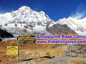 Offering with online payment: Annapurna Base Camp Trek