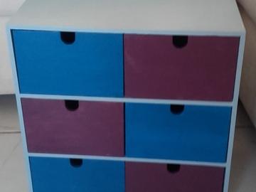 Vente au détail: Bloc de casiers pour rangement