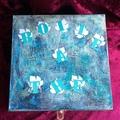 Vente au détail: Boîte à thé verte et bleue