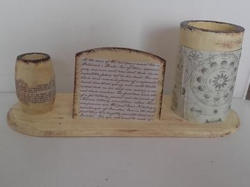 Vente au détail: Pot à crayon vintage