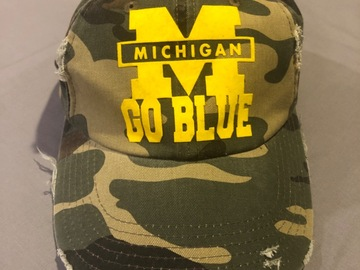 Selling A Singular Item: Camouflage hat