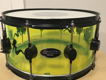Selling with online payment: PDP SX Acrylic Snare Drum