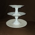 Selling with online payment: White Tiered Treat Stand