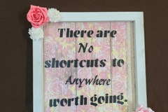 Selling with online payment: No Shortcuts Sign