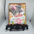 Selling with online payment: Thinking Of You Handmade Greeting Card