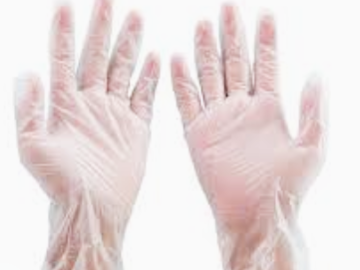 Instant Buy: Emergency-Aid Products: Vinyl Medical Examination Gloves
