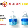 Instant Buy: Emergency-Aid Products: 75% Alcohol Gel Disinfectant 99.9% Effectiveness (500ml)